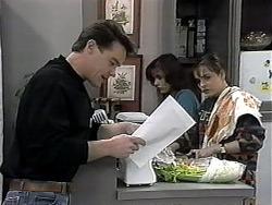 Paul Robinson, Christina Alessi, Caroline Alessi in Neighbours Episode 1319