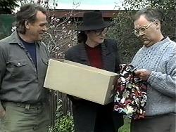 Doug Willis, Dorothy Burke, Harold Bishop in Neighbours Episode 1319