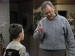 Toby Mangel, Harold Bishop in Neighbours Episode 1319