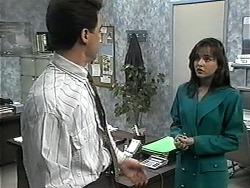Paul Robinson, Caroline Alessi in Neighbours Episode 1320
