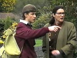 Ryan McLachlan, Dorothy Burke in Neighbours Episode 1320