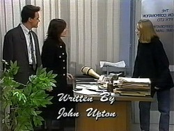 Paul Robinson, Caroline Alessi, Melanie Pearson in Neighbours Episode 1321
