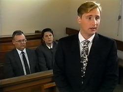Harold Bishop, Joe Mangel, Stephen Evans in Neighbours Episode 1321