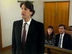 Brian Lewis, Sandy Jensen, Eric Jensen in Neighbours Episode 1321