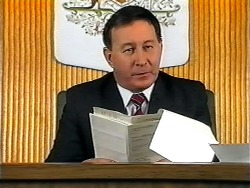 Judge Latimer in Neighbours Episode 1321