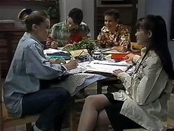 Melissa Jarrett, Josh Anderson, Todd Landers, Cody Willis in Neighbours Episode 1322