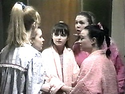 Melissa Jarrett, Jessie, Cody Willis, Lynn, Bianca in Neighbours Episode 1322