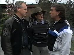 Jim Robinson, Dorothy Burke, Doug Willis in Neighbours Episode 1323