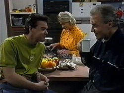 Paul Robinson, Helen Daniels, Jim Robinson in Neighbours Episode 1323
