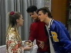 Melissa Jarrett, Josh Anderson, Todd Landers in Neighbours Episode 1323