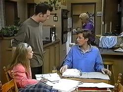 Gemma Ramsay, Matt Robinson, Ryan McLachlan, Madge Bishop in Neighbours Episode 1324