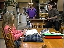 Gemma Ramsay, Madge Bishop, Matt Robinson in Neighbours Episode 1324