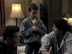 Matt Robinson, Toby Mangel, Joe Mangel in Neighbours Episode 1324