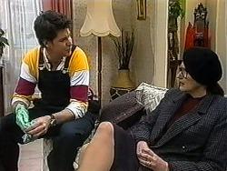 Joe Mangel, Dorothy Burke in Neighbours Episode 1325