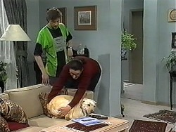 Ryan McLachlan, Dorothy Burke, Bouncer in Neighbours Episode 1325