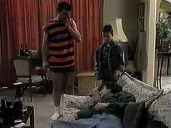 Matt Robinson, Serge, Toby Mangel in Neighbours Episode 1325