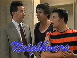 Anthony Reeves, Joe Mangel, Matt Robinson in Neighbours Episode 1325