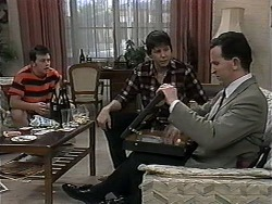 Matt Robinson, Joe Mangel, Anthony Reeves in Neighbours Episode 1326