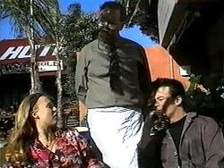Gemma Ramsay, Harold Bishop, Matt Robinson in Neighbours Episode 1326