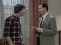 Joe Mangel, Anthony Reeves in Neighbours Episode 1326