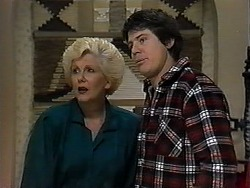 Madge Bishop, Joe Mangel in Neighbours Episode 1326