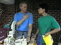 Jim Robinson, Josh Anderson in Neighbours Episode 1326