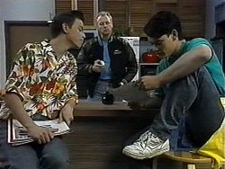 Todd Landers, Jim Robinson, Josh Anderson in Neighbours Episode 1326