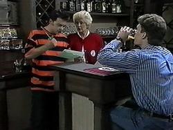 Matt Robinson, Madge Bishop, Adam Willis in Neighbours Episode 1327