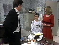 Paul Robinson, Toby Mangel, Melanie Pearson in Neighbours Episode 1327
