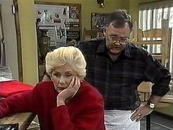 Madge Bishop, Harold Bishop in Neighbours Episode 1327