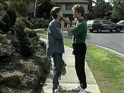Ryan McLachlan, Adam Willis in Neighbours Episode 1327