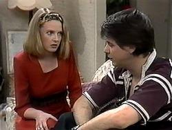 Melanie Pearson, Joe Mangel in Neighbours Episode 1327