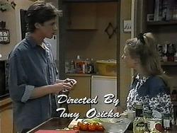 Ryan McLachlan, Gemma Ramsay in Neighbours Episode 1328