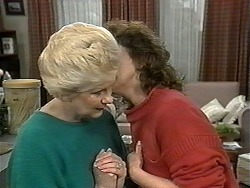 Madge Bishop, Pam Willis in Neighbours Episode 1328
