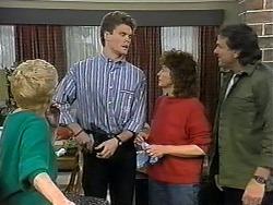 Madge Bishop, Adam Willis, Pam Willis, Doug Willis in Neighbours Episode 1328