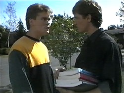 Adam Willis, Ryan McLachlan in Neighbours Episode 1328