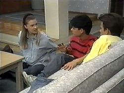 Melissa Jarrett, Josh Anderson, Todd Landers in Neighbours Episode 1329
