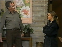 Harold Bishop, Gemma Ramsay in Neighbours Episode 1334