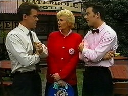 Paul Robinson, Madge Bishop, Matt Robinson in Neighbours Episode 1334