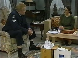 Sgt. Mooney, Dorothy Burke in Neighbours Episode 1334