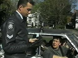 Police Officer, Matt Robinson in Neighbours Episode 1338
