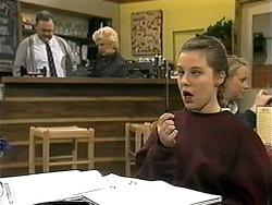 Harold Bishop, Madge Bishop, Melissa Jarrett in Neighbours Episode 1338