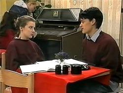 Melissa Jarrett, Josh Anderson in Neighbours Episode 1338