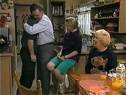Matt Robinson, Harold Bishop, Gemma Ramsay, Madge Bishop in Neighbours Episode 1339