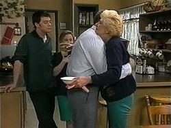 Matt Robinson, Gemma Ramsay, Harold Bishop, Madge Bishop in Neighbours Episode 1339