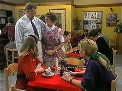 Harold Bishop, Melanie Pearson, Vera Carmichael, Gemma Ramsay in Neighbours Episode 1339