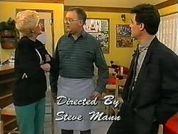 Madge Bishop, Harold Bishop, Paul Robinson in Neighbours Episode 1340