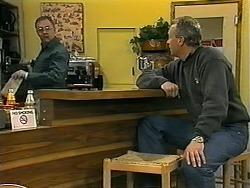 Harold Bishop, Jim Robinson in Neighbours Episode 1340