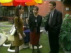 Christina Alessi, Caroline Alessi, Paul Robinson in Neighbours Episode 1340