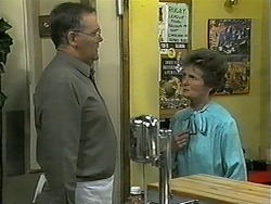 Harold Bishop, Vera Carmichael in Neighbours Episode 1340